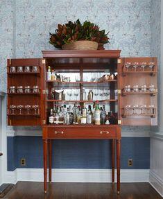 Custom liqueur cabinet