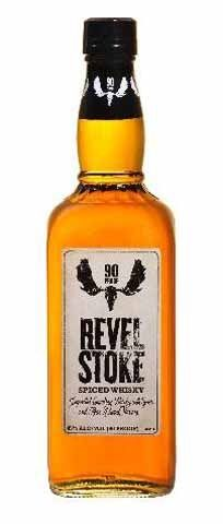 Revelstoke spiced whiskey, preferred this old design on the label.  New design too corny.