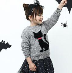 Modèle pull chat enfant - Modèles Enfant - Phildar