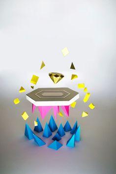 Visual Paper Design by Mick Theisen, via Behance