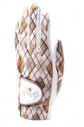 Glove It Desert Argyle Ladies Golf Glove