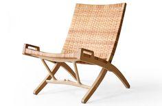 Hans Wegner PP512 PP Møbler Folding Ash Easy Chair