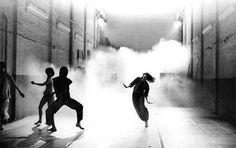 The future of the Trisha Brown Dance Company Opal Loop / Cloud Installation -- photo (c) Babette Mangolte 1980 London 2016, Dan Brown, Ballet, Street Dance, New York, Dance Company, Dance Class, My Favorite Image, Concert Hall