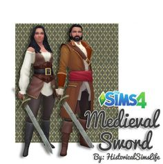 historically themed custom content made for the sims 4 game series The Sims, Sims Cc, Sims 4 Controls, Sims Medieval, Sims 4 Game, Sims 4 Clothing, Sims 4 Update, Think, Sims 4 Mods