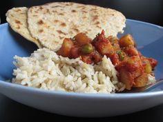 Crock Pot Vegetarian Tikka Masala -- time to save energy on the AC with crock pot meals :)