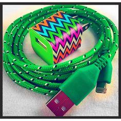 A personal favorite from my Etsy shop https://www.etsy.com/listing/238324311/iphone-charger-with-wall-adapter-iphone
