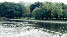 Leazes park, Newcastle upon Tyne, UK