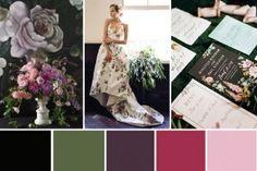 Wedding Colour Palettes | OneFabDay.com Ireland