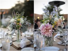 eclectic and whimsical florals