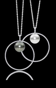 Schoeffel Ring Necklace, Pearl Necklace, Pendant Necklace, Earrings, Pearl Jewelry, Diamond Jewelry, Jewelery, Pearl Design, Everyday Necklace