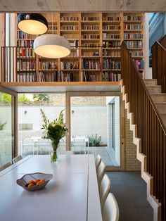 mikhail riches architects / restructured georgian house, east london