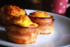 Need to size down your portions without skimping on the bacon? Bacon and Egg Cups is a great way to get your daily dose of bacon in a more manageable size.