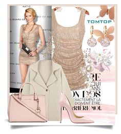 """""""TOMTOP 7"""" by suncokret-12 ❤ liked on Polyvore featuring Christian Louboutin, Michael Kors, vintage, women's clothing, women's fashion, women, female, woman, misses and juniors"""