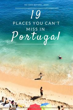 The 19 Best Places to Visit in Portugal - - From stunning beaches to ancient city centers, Portugal has something for every type of traveler. Find the best places to visit on your next trip to Portugal. Plan Portugal, Visit Portugal, Spain And Portugal, Portugal Trip, Porto Portugal Beach, Best Beaches In Portugal, Albufeira Portugal, Places In Portugal, Portugal Vacation