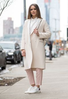 How to dress for February 2015? It's right hurr with blogger Kristina Bazan at NYFW