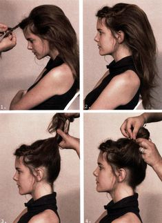 braid updo how to
