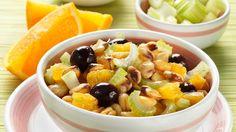 Cicerchie con arance e olive nere