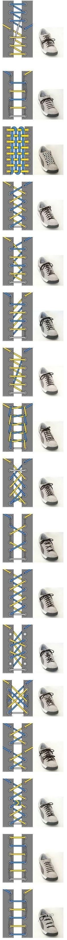 Nudos de zapatillas.