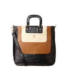 Tonal Leather Burdock Bag