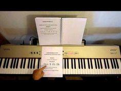 J'apprends le Piano Lecon de piano N°7 Méthode fa si la jouer MrTcoura...