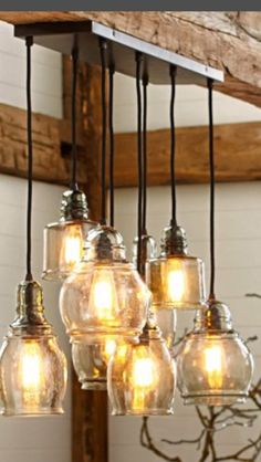 Pottery Barn Paxton  light fixture! Love this ! Just ordered this for over my kitchen table and 2 pendants for over the kitchen island.