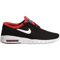 Nike Men Sb Stefan Janoski Max Sneakers (225 AUD) ❤ liked on Polyvore featuring men's fashion, men's shoes, men's sneakers, black, mens sneakers, mens black sneakers, nike mens shoes, mens shoes and nike mens sneakers