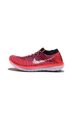 new products c3cd5 6fe9f Nike Free RN Motion Flyknit Mens Running Trainers 834584 Sneakers Shoes (US bright  crimson white black