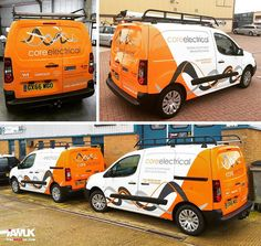 Fleet of new Citroen Berlingo vans | by It's A Wrap UK