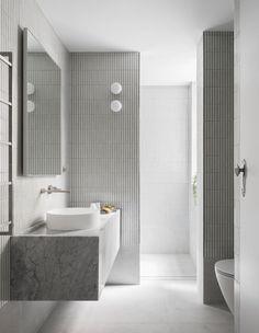 An Inner-City, Art Deco Living Dream Apartment Minimal Bathroom, Boho Bathroom, Bathroom Trends, Modern Bathroom, Small Bathroom, Bathroom Box, Bathroom Ideas, Architecture Life, Dream Apartment