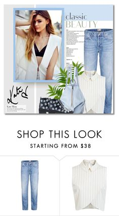 """Untitled #1660"" by defivirda ❤ liked on Polyvore featuring Mother, Miss Selfridge and Anouki"