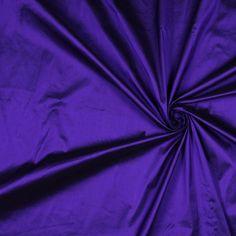 Bright Indigo Solid Shantung/Dupioni - Shantung/Dupioni - Silk - Fashion Fabrics