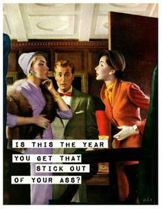 happy new year   FUNNY   Pinterest   Humor  Stuffing and Hilarious new years resolution     retro funny