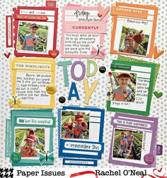 Created this layout using Note Worthy for my favorite challenge of the Spring Crop - Polka Dot Party! Join us in… Polka Dot Party, Polka Dots, Scrapbook Pages, Scrapbooking, Scrapbook Layouts, Elle Studio, Sketch Inspiration, Big Picture, Challenges