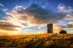Sunset at The Folly, Pontypool, Wales-  White, Leonard Family (Vernon) where the rest of my family from wales is from