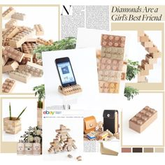 """""""WOODEN LEGO STYLE"""" by fukutomi on Polyvore"""