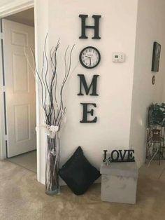 Decoration Bedroom, Diy Wall Decor, Decor Room, Wall Decorations, Living Room Wall Decor Diy, Diy Decorations For Home, Living Room Themes, Decoration Crafts, Aquarium Decorations