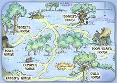 Image result for winnie the pooh map