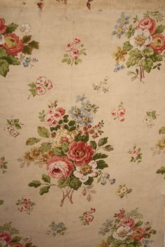 Beautiful vintage wallpaper