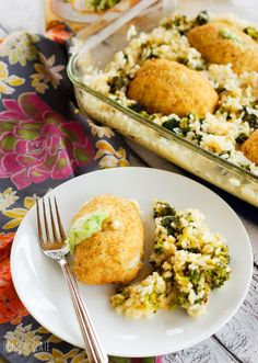 Oven Baked Broccoli & Cheddar Risotto – Dan330