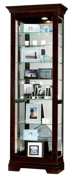 Howard Miller 680-412 Saloman Curio Cabinet                                                                                                                                                                                 More                                                                                                                                                                                 More