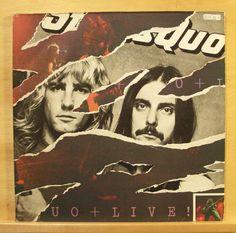 STATUS QUO - Live - Vinyl 2-LP + Poster - Juniors Wailing Roll over lay down RAR in Musik, Vinyl, Rock & Underground | eBay