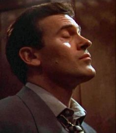 Bruce Campbell enjoying his own beauty (I know I am!) #BruceNosePorn