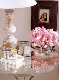 bedside table components- kate collins interiors