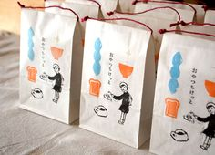 画像1 Rice Packaging, Clever Packaging, Organic Packaging, Japanese Packaging, Bakery Packaging, Food Packaging Design, Coffee Packaging, Packaging Design Inspiration, Brand Packaging