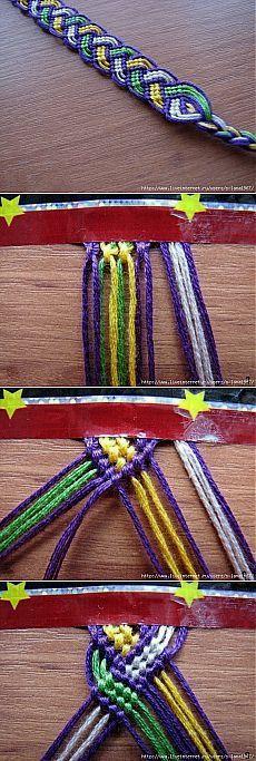 2Мк -браслеты в технике макраме.