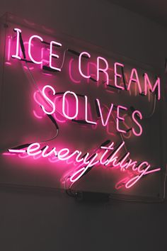 white LED neon signage on store photo – Free Cadillac Image on Unsplash Cream Aesthetic, Neon Aesthetic, Aesthetic Collage, Aesthetic Bedroom, Bedroom Wall Collage, Photo Wall Collage, Picture Wall, Ice Cream Pictures, Ice Cream Images