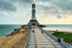 Guan Yin of the South Sea of Sanya (Nanshan Haishang Guanyin), Sanya, Hainan China