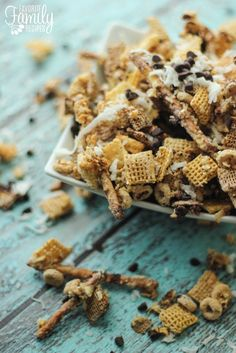 Almond Joy Chex Mix