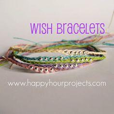 Wish Bracelets 2.0 – Ankle Length