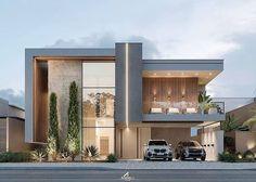 Modern House Facades, Modern Bungalow House, Modern Mansion, Modern Architecture House, Best Modern House Design, Modern Villa Design, Modern Exterior House Designs, House Outside Design, House Front Design